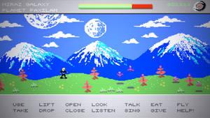 c64 Elsewhere Grass BIG Pixel by Aealacreatrananda