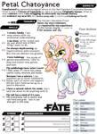 Petal Chatoyance Fate Core by Aealacreatrananda