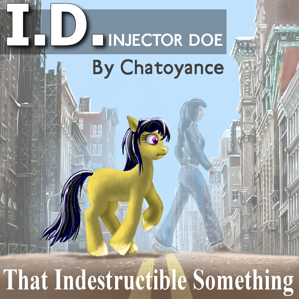 ID Cover Original cover for my novel on Fimfiction by Aealacreatrananda