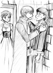 Merthur scetch 2 - caught by Ta-moe