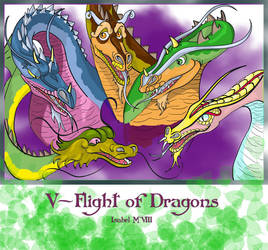 V-Flight of Dragons by Ameban