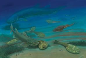 Xitun - Life in the Early Devonian by Gogosardina