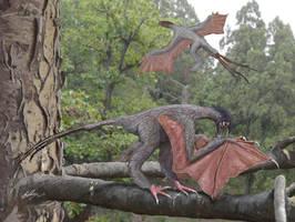 Yi qi. Dragon of the Daohugou by Gogosardina