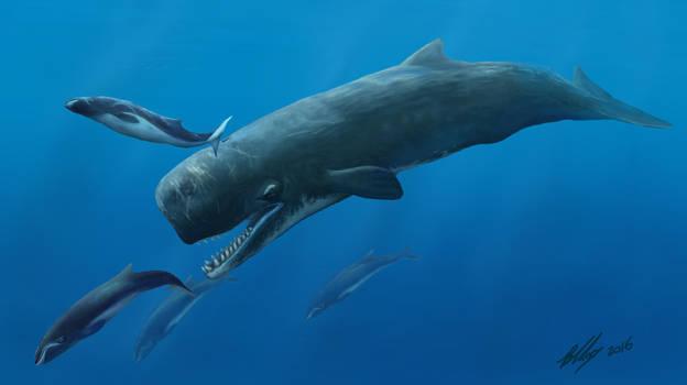 The Leviathan of Beaumaris by Gogosardina