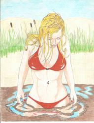 Blonde Sinker by mudbogz