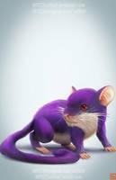 pokemon project 019 Rattata byLo0bo0 by Lo0bo0