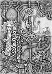 Drawing with knots by kramkraka