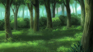 Forest background by Chantalwut