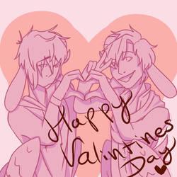 Happy Valentines Day by StrangeRobot