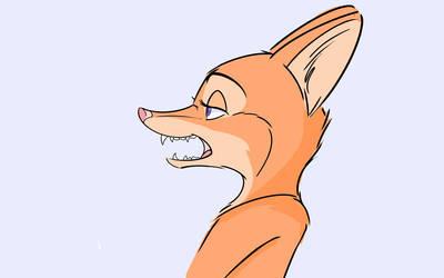 Dummy fox by MegamiJP