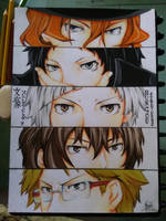 Bungou Stray Dogs by D-Dango