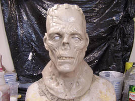 Spawn of frankenstein sculptur by Justin-Mabry