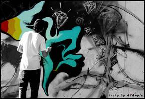 .:Graffiti:. by AVAngie