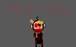 help me... by LizzyTheTubbie
