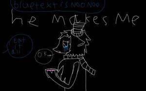 noo noo makes me ( feel free to make fan art ) by LizzyTheTubbie