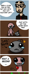 An Ipecac close call - Northernlion/Isaac FanComic by lava1o
