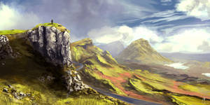 Isle Of Skye View by behindspace99