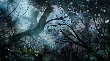 Mystic Forest by behindspace99