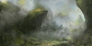 Denethor Plains by behindspace99