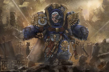 Marneus Calgars Final Charge by behindspace99