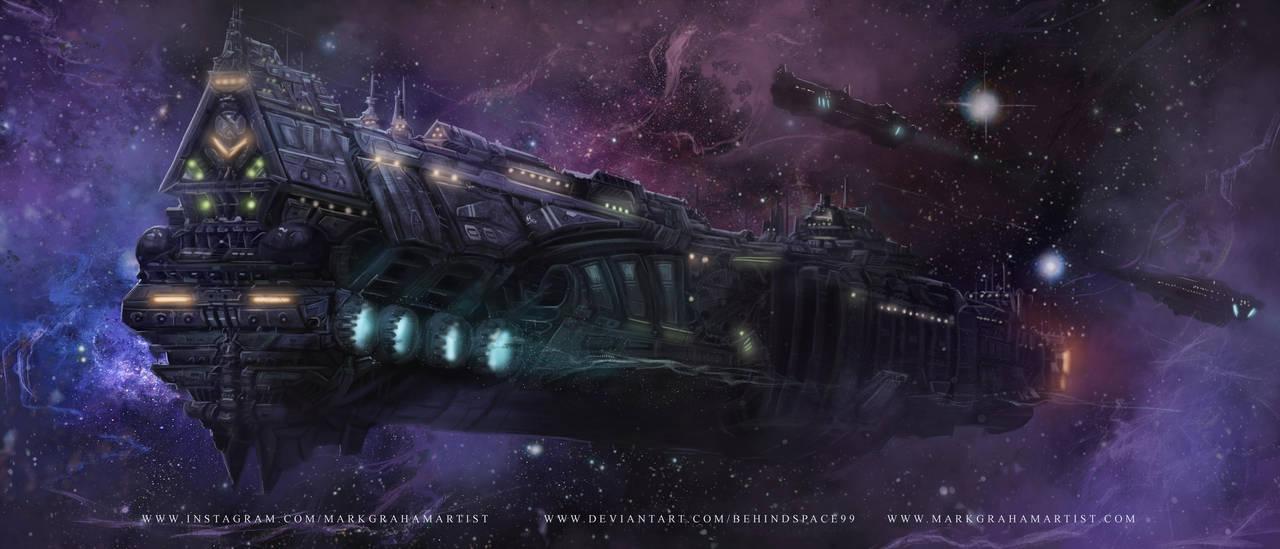 Vessel Of Nebula by behindspace99