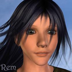 Trigun: Rem Saverem (3D) by EdenEvergreen