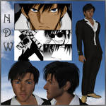 Trigun: Wolfwood (3D) by EdenEvergreen
