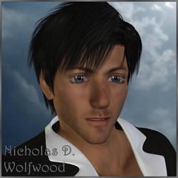 Trigun: Nicholas D Wolfwood (3D) by EdenEvergreen