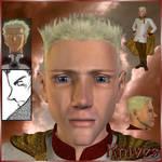 Trigun: Millions Knives (3D) by EdenEvergreen