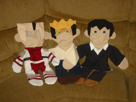 Trigun: Lost Plushie Trio by EdenEvergreen