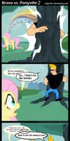 Bravo vs. Ponyville 2 by Angerelic