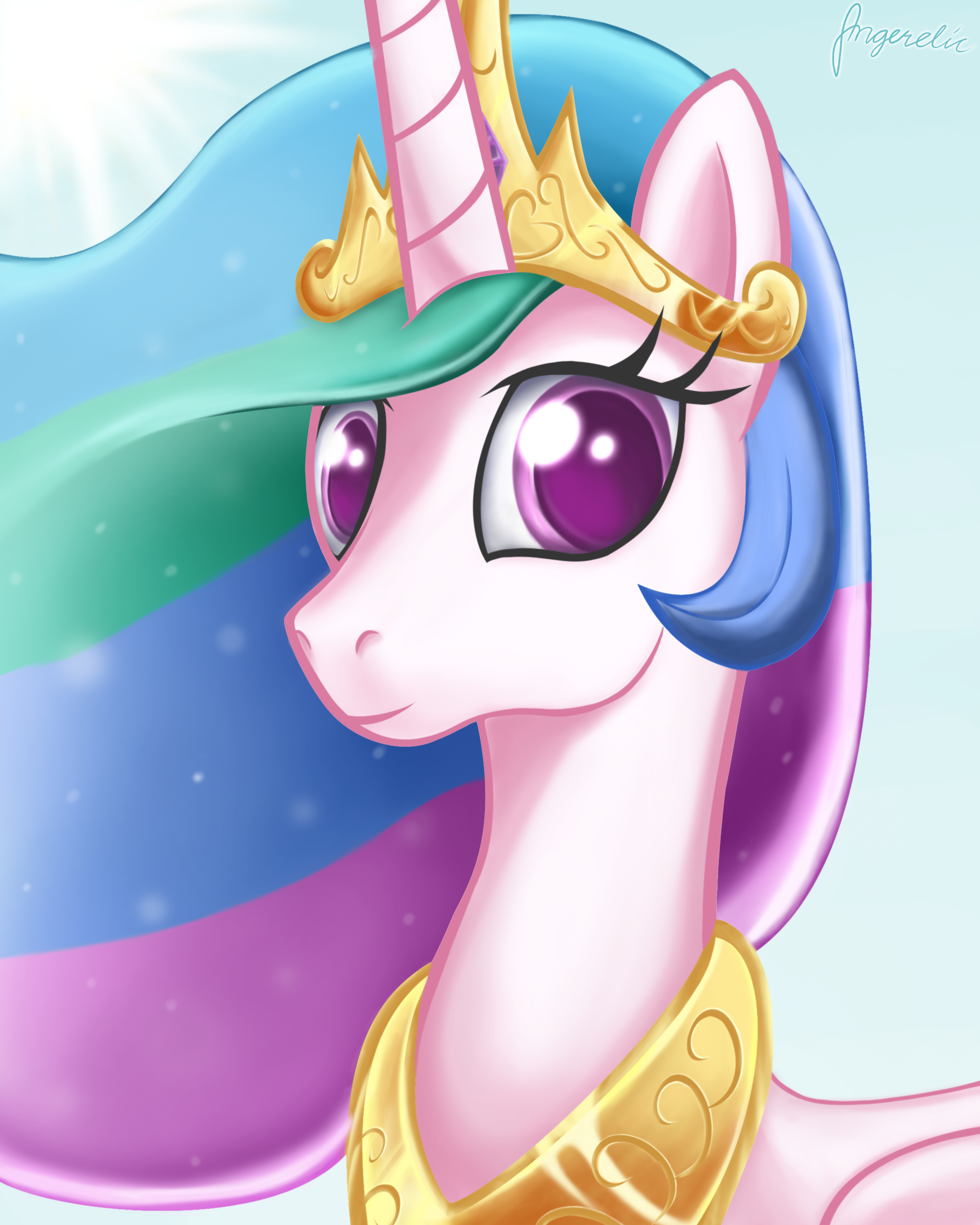 Celestia by Angerelic