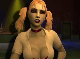 Jeanette the Vampire by rezelute