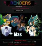 render pack by me by darknesdesing