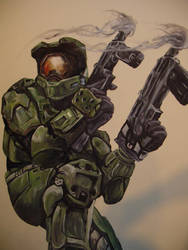 master chief by JApgar