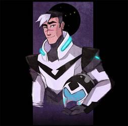 Voltron: Shiro, Black Paladin by carrinth