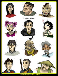 Zodiacs Cast by carrinth