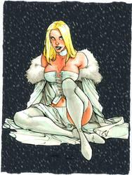 Emma Frost by BenComics
