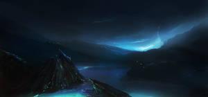 landscape by elleneth