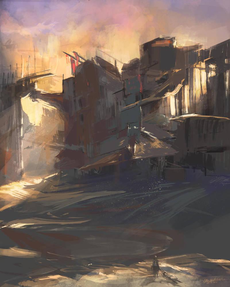 daily sketch 007/365 by elleneth