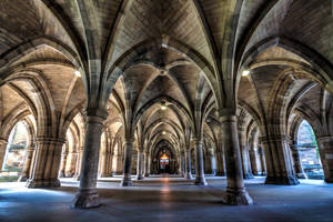 Cloister-1 colour by JohnJackie