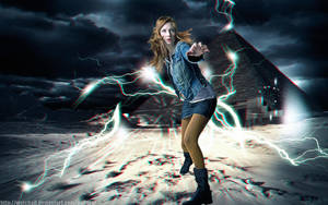 Amy Pond 3D by watchall