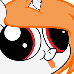 MLP OC - Derp face w/ tongue (Merry Ginger) by Haroldette