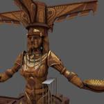 Huge Goddess Statue 1 by strangelet