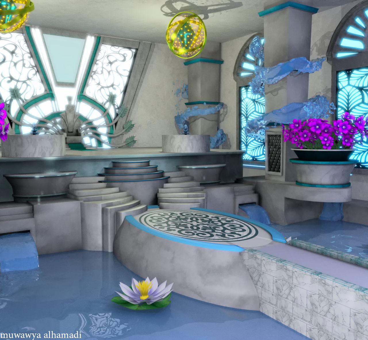 Throne room by muwawya-alhamadi