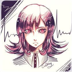 DanganRonpa: Nanami Chiaki by cielking