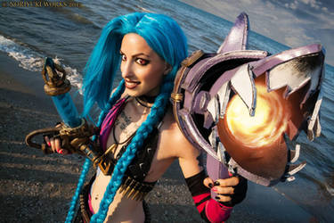 Jinx - League of Legends Cosplay by MissHatred by JessicaMissHatred
