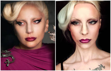 Lady Gaga American Horror Story by MissHatred by JessicaMissHatred