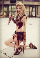 Saxa from Spartacus Cosplay by MissHatred by JessicaMissHatred