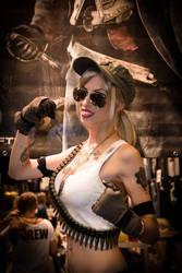 Sonya Blade Mortal Kombat IX Cosplay by MissHatred by JessicaMissHatred